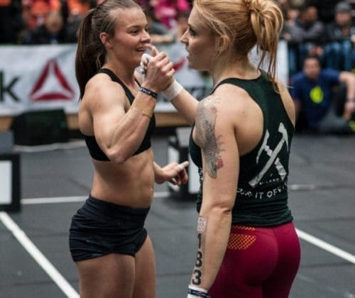 Crossfit chicks competition
