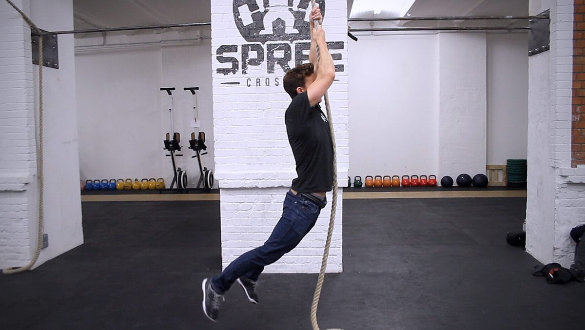 5 Steps to Master the Legless Rope Climb
