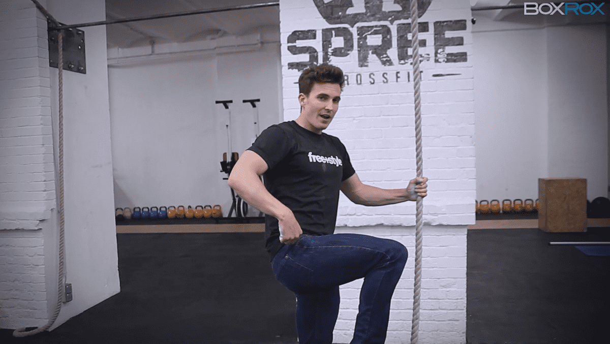 How-To Legless Rope Climb – Fast Kip – Carl Paoli Series – No.4