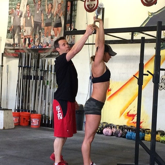 Ben Bergeron WOD: 100 Rounds of HSPU, Cleans & Burpees