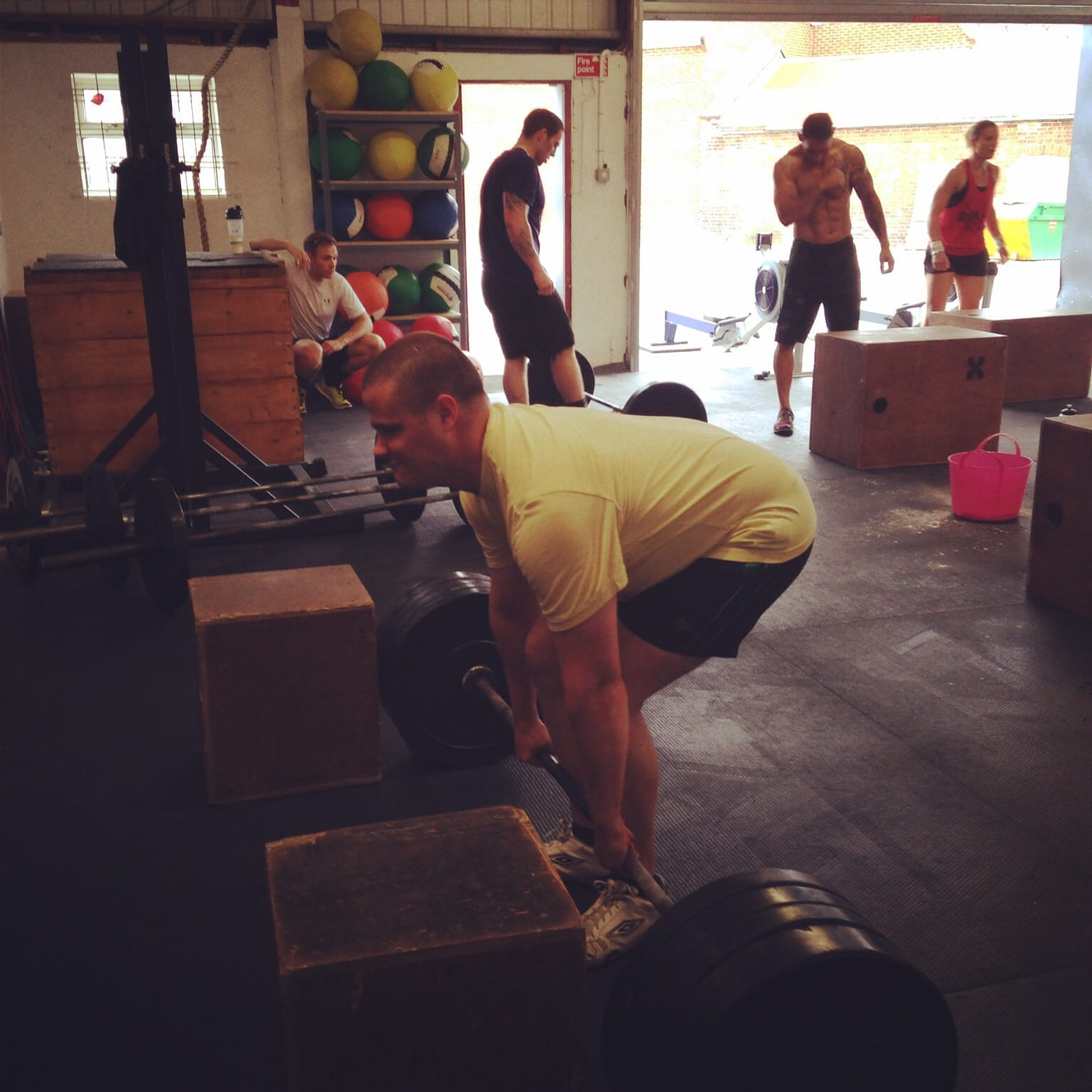 Blind Crossfitter Stu Young: I Want To Do Weightlifting!
