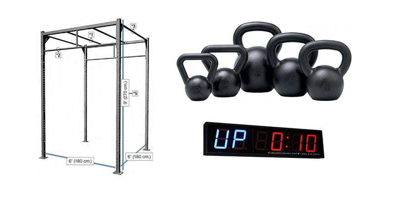 Days to fitness freedom the garage gym