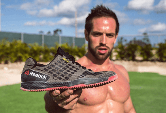Rich Froning's Reebok CrossFit Compete 6:14 shoes