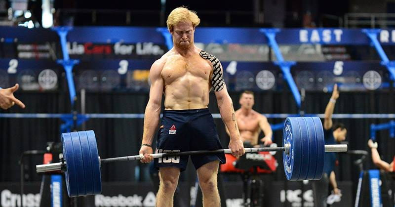 Patrick Vellner tore a bicep then went on to put in incredible performances at the Regionals. Iron mind!