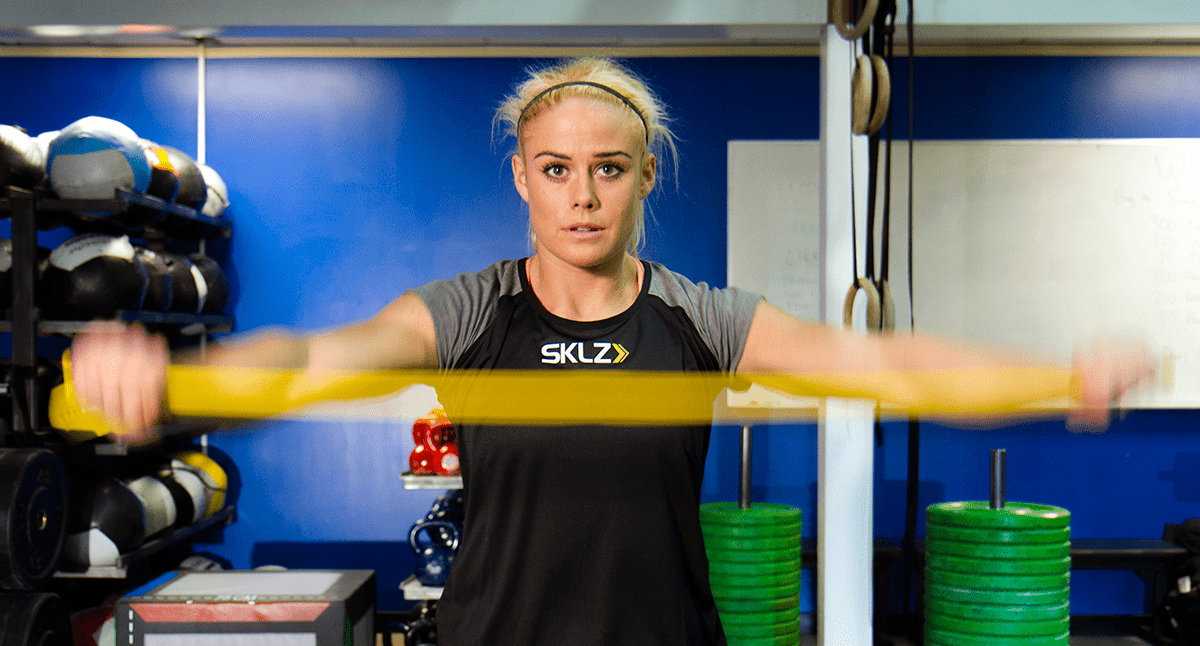 Sara Sigmundsdóttir's Favourite Mobility Drills with Resistance Bands