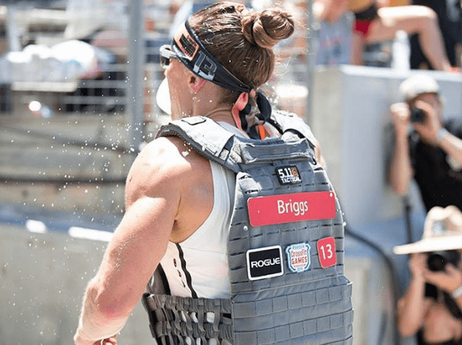 Unforgettable Crossfit Games moments sam briggs Hero wod Murph