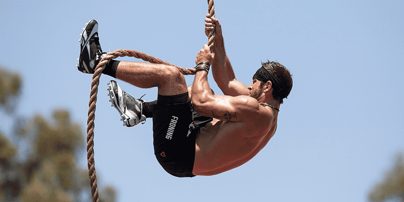 crossfit games moments rich froning rope climbs
