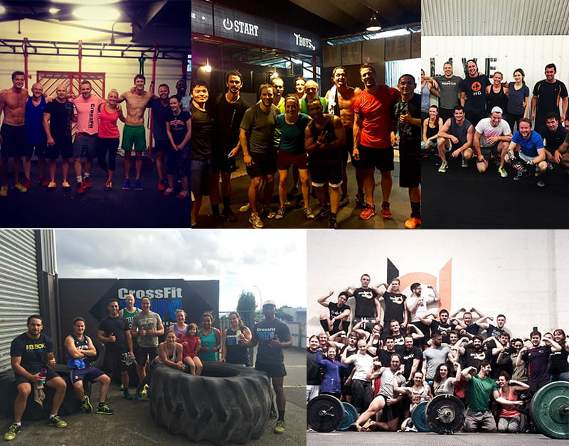 CrossFitBoxes