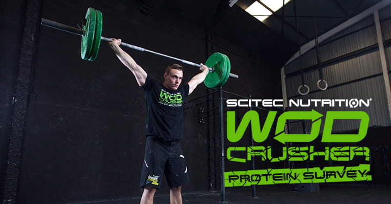 Giveaway: Take the Protein Survey and Win WOD CRUSHER Items
