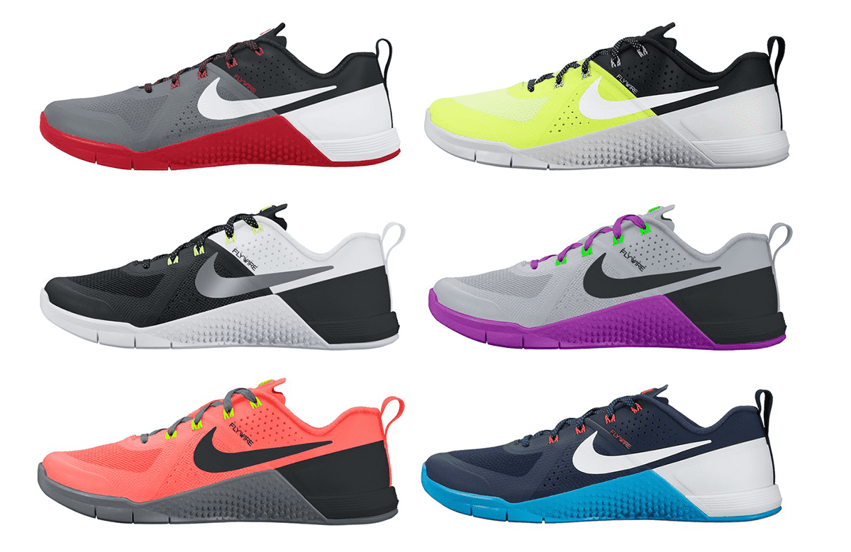 Nike Metcon Colours