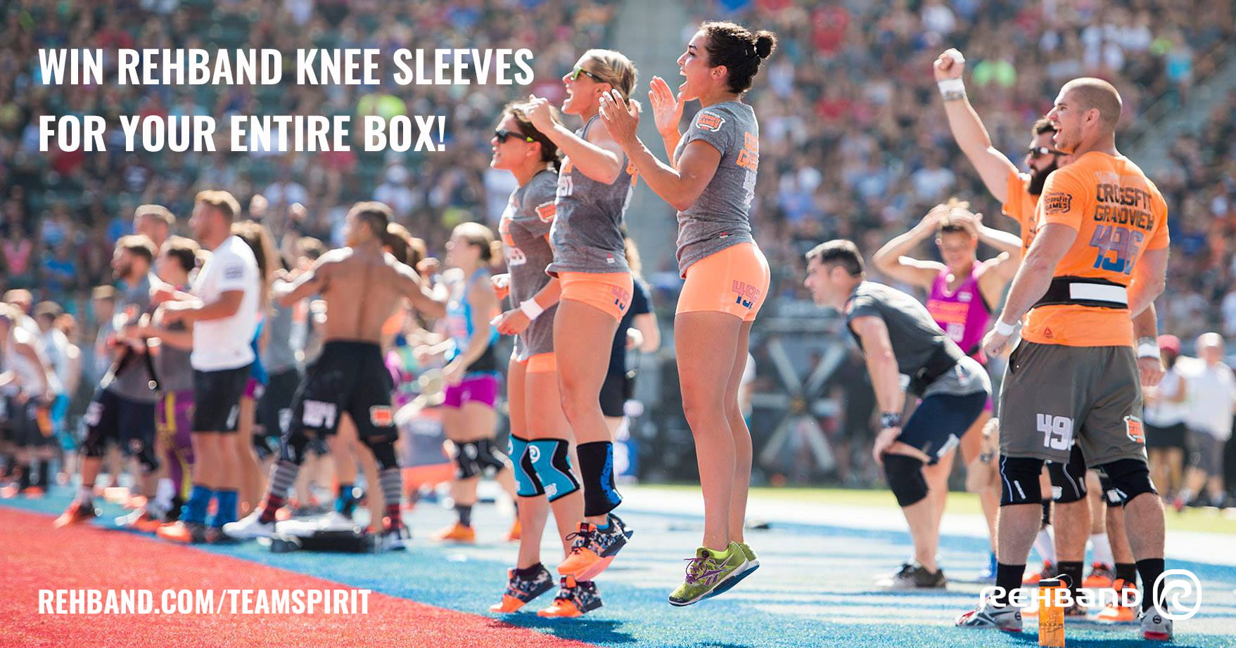 Rehband's Team Spirit Contest 2015 – Win knee sleeves for your ENTIRE box!