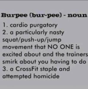 crossfit exercise burpee amrap wod AMRAP CROSSFIT WORKOUTS