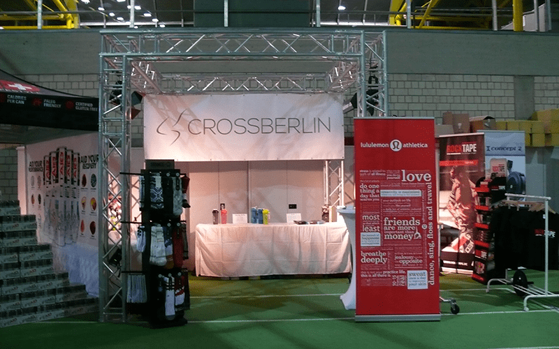 CrossBerlin: An Online Crossfit Shop from Athletes for Athletes!