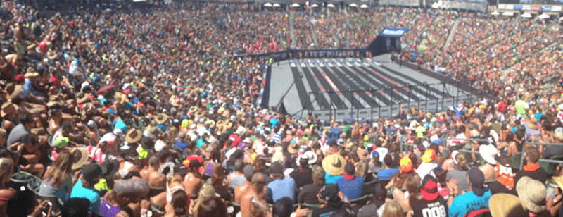 The Crowd at the 2015 Crossfit Games