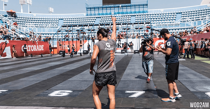 Yazmin is a fierce Crossfit competitor