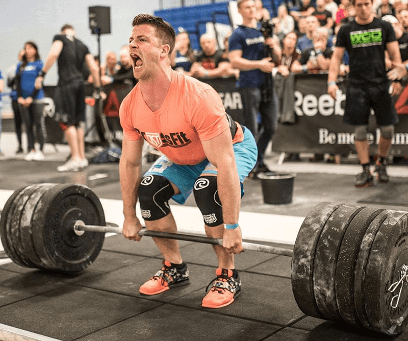 steven fawcett crossfit games athlete deadlift