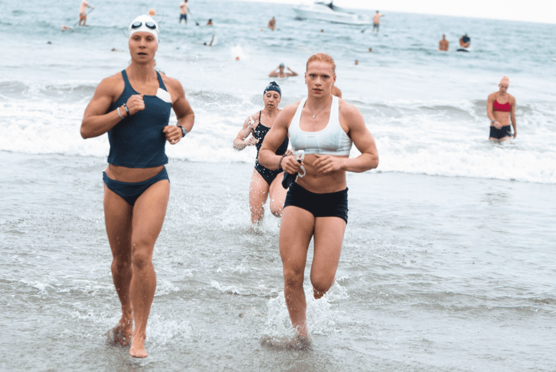 annie thorisdottir swim endurance wods