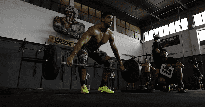 Fausto uses Crossfit to counter his Type 1 diabetes