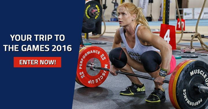 Your Chance for a 7 Day Trip to California and the CrossFit Games!