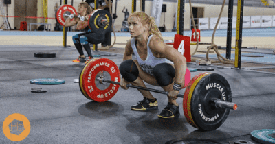 annie thorisdottir the crossfitter clean and jerk