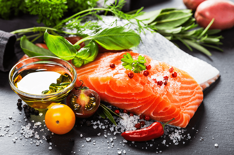 Salmon is a fantastic source of protein, vitamins, minerals and natural fats.