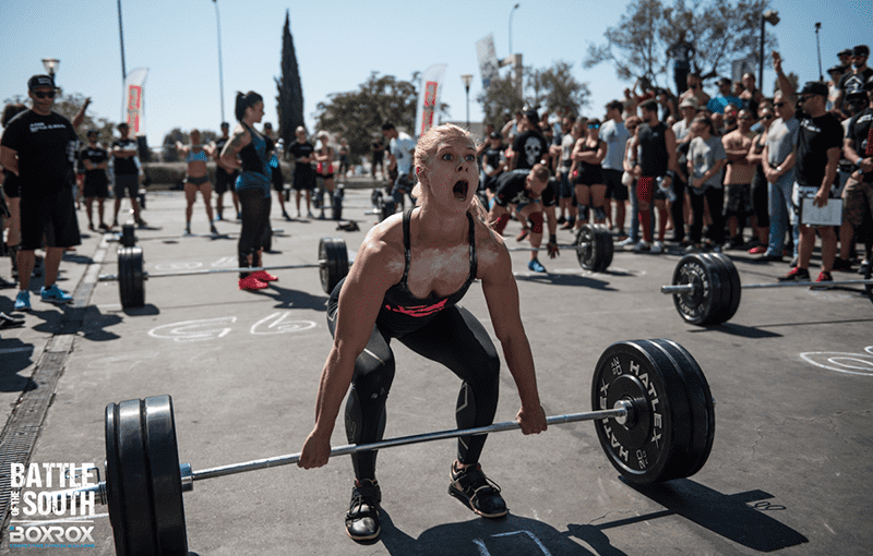 Crossfit makes us strong and teaches that giving up is not an option