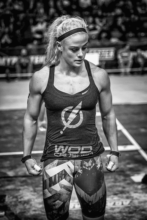 Protein recovery, growth and maximising performance are essentials for Sara Sigmundsdottir.