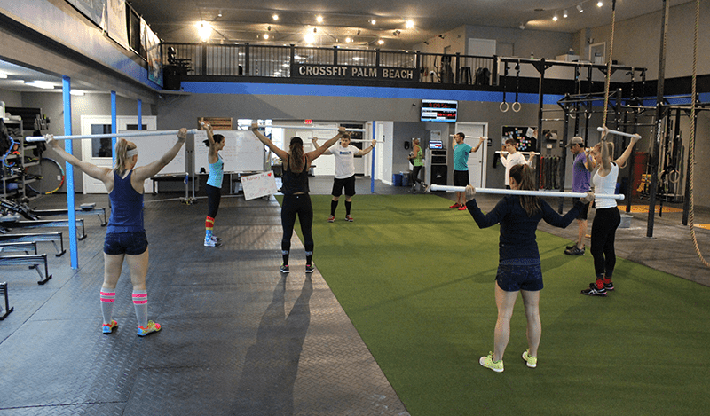 Crossfit warm-up