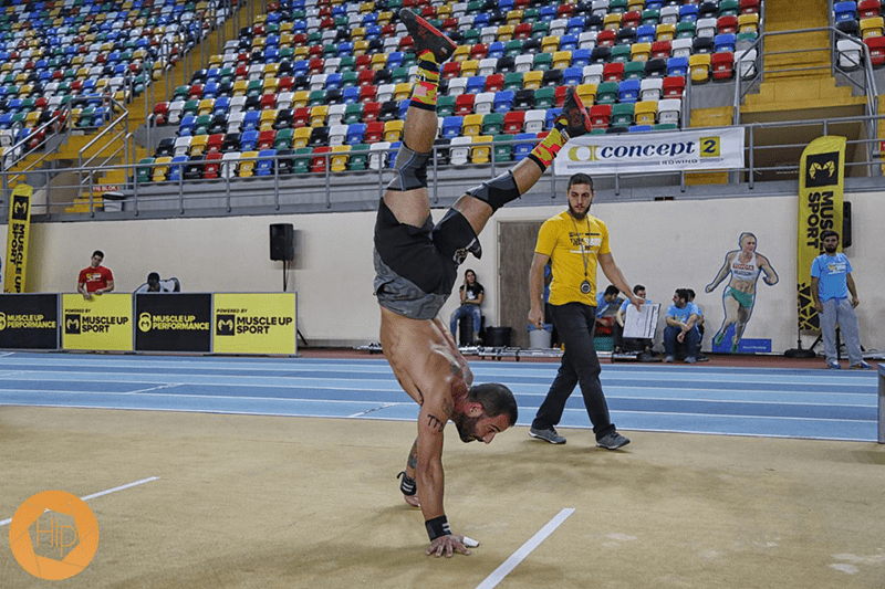 Crossfit recovery: Handstand walk