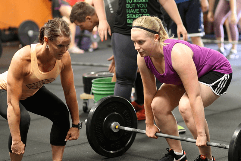 Crossfit coaching: teaching