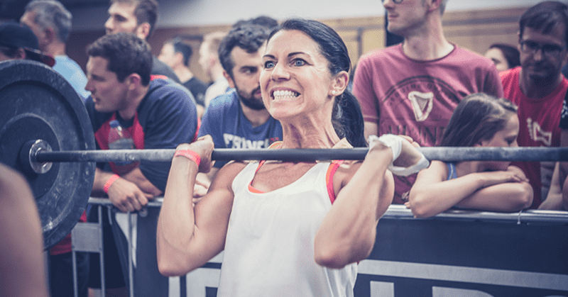 Crossfit Mindsets focus on success