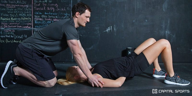 Crossfit Mobility shoulder exercises from capital sports