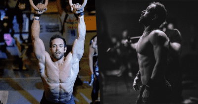Rich Froning crossfit athlete does wods at home