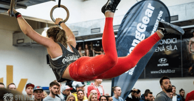 Crossfit first ring muscle up