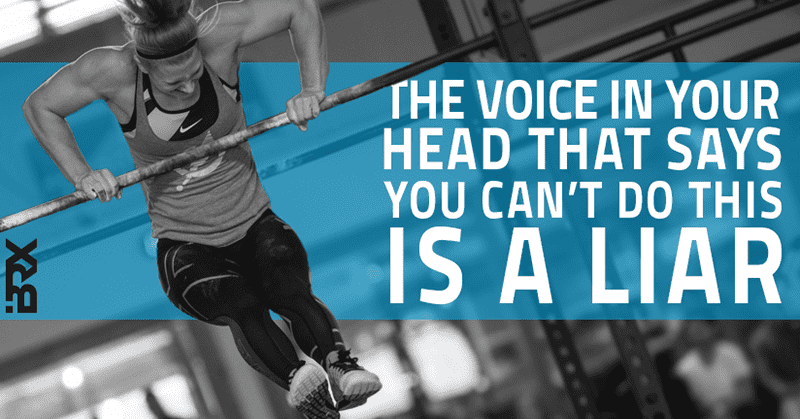Crossfit motivation quote