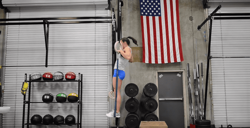 Muscle Up drills
