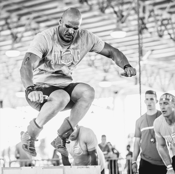 Ron Ortiz crossfit box jump intensity