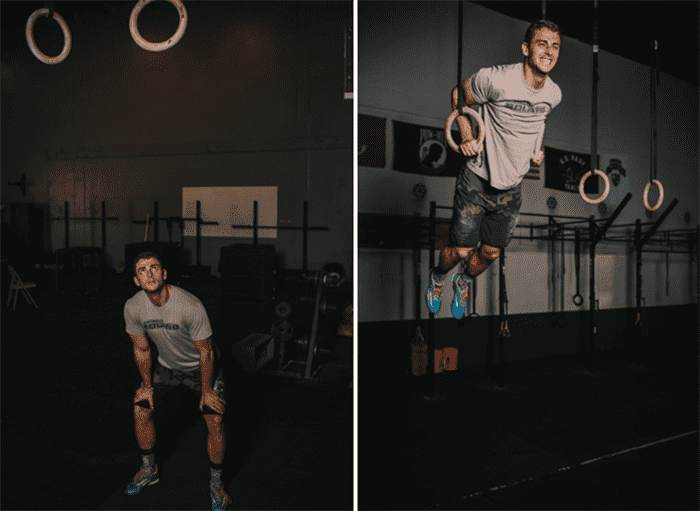 Ring Muscle Ups, before and after