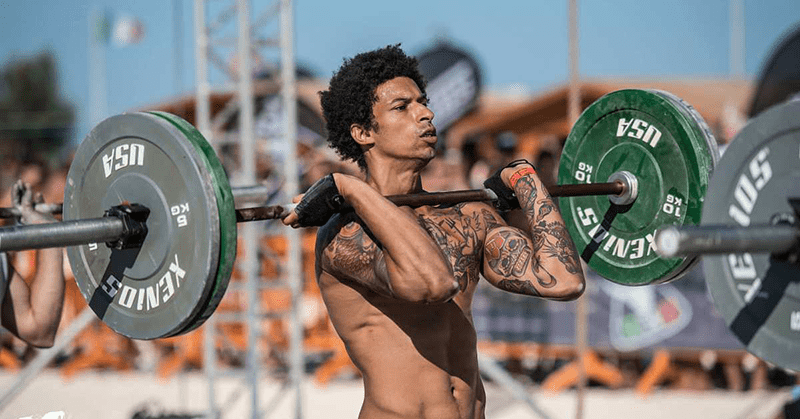 Crossfitter in the Open