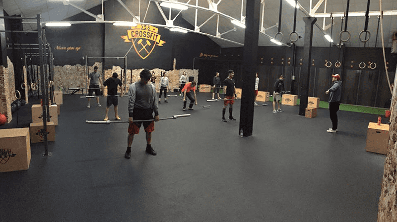 555 Crossfit boxes in Madrid class