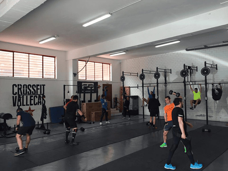 boxes in madrid crossfit vallecas