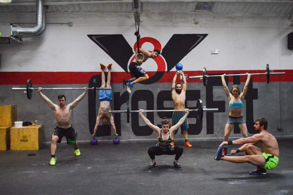 Crossfit v8 boxes in madrid