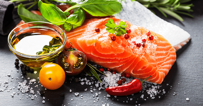 intermittent fasting protein salmon salt tomato testosterone