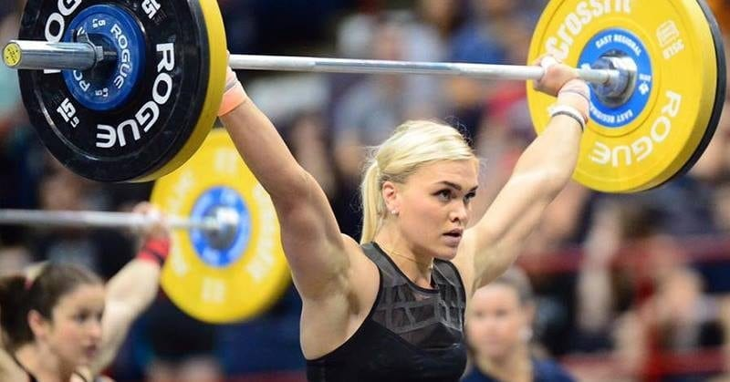 regionals recap katrin davidsdottir competes with intensity heart rate variability