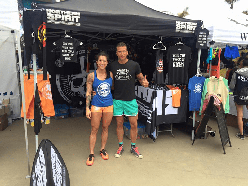 Northern Spirit set up shop at the californian regionals