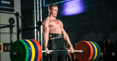 crossfit athlete bjorgvin karl gudmundsson deadlift powerlifting