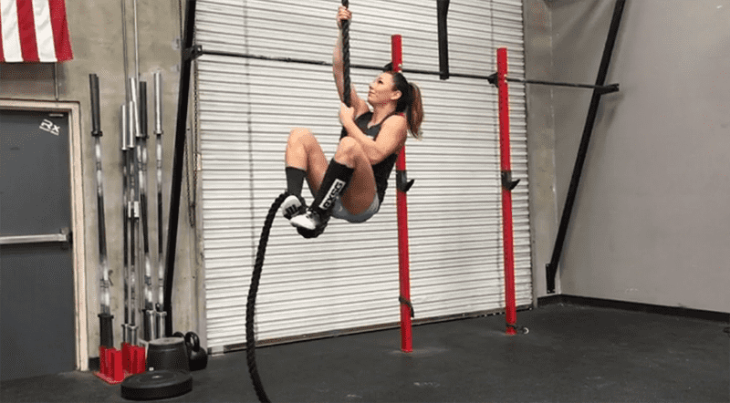 crossfit rope climb secure j wrap grip