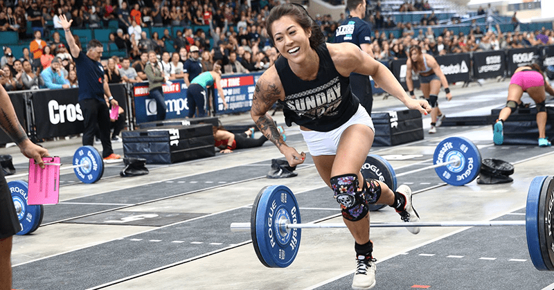 Sarah Loogman at the californian regionals