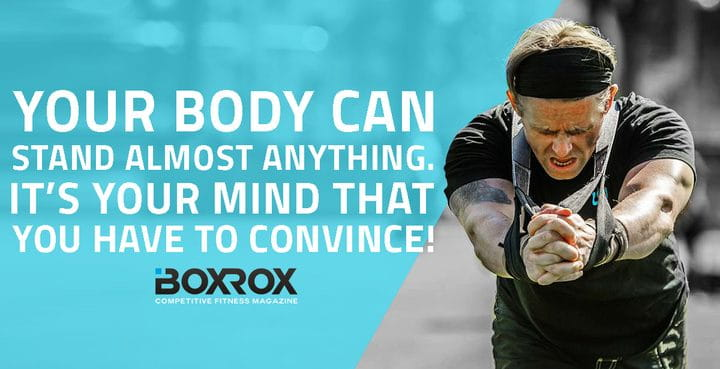 crossfit quotes mind over body