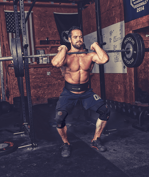 rich froning crossfit corrects squat mistakes